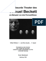 Merzbach - Das Absurde Theater Des Samuel Beckett