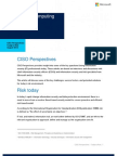 CISO Perspectives Today's Risk