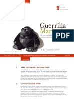 Guerrilla Marketing eBook