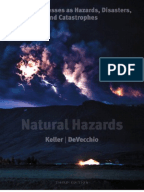 Thesis on natural hazard on 1500 words