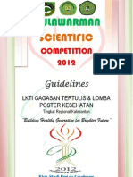 The Guidelines of Mnc Fk Unmul 2012 Reg Kalimantan