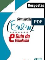 NOVO ENEM 2009 - Respostas Dos Simulados