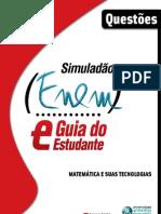 NOVO ENEM 2009 - Simulado de Matematica