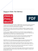 The Wall Street Journal Singapore Bus Strike