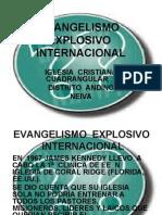PRESENTACIÓN INICIAL EVANGELISMO  EXPLOSIVO  INTERNACIONAL