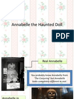 Annabelle The Haunted Doll