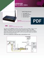 Uputstvo Za Podesavanje Wireless ZyXEL P-660HW-T1 ADSL2+ Rutera
