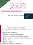 Znaczenie jakości narodzini jego rodziców w świetle wybranych badań -dr n. med. Barbara Baranowska