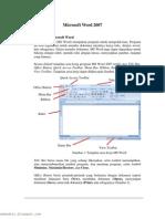 Materi ajar Microsoft Word 2007