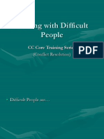 Dealing With Difficult People PPT