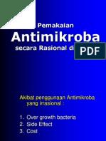 Pemakaian Antimikroba Secara Rasional Di Klinik