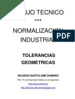 DIBUJO TÉCNICO. TOLERANCIAS  GEOMÉTRICAS
