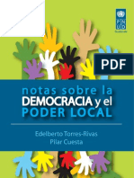 Notas Sobre La Democracia y El Poder Local