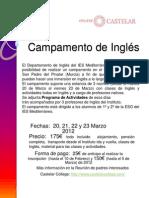 InformaciónCampamentoInglés-2012