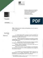 Charte des bonnes pratiques photographiques dans les musées et autres monuments nationaux.