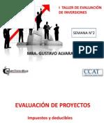 Taller de Evaluacion de Inversiones SEMANA 2