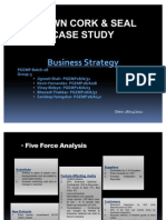 54439366 Crown Cork Seal Case Study Grp 3 Business Strategy (2)