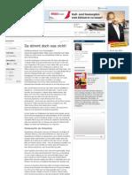 Strahlenfolter - Chemtrails & Nano Partikel - Da Stimmt Doch Was Nicht - Spinner, Irre, Psychopathen - Freitag.de