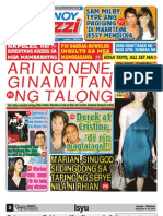 Pinoy Parazzi Vol 6 Issue 113 September 9 - 10, 2013