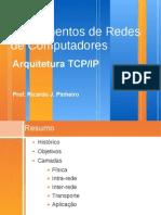 Redes de Computadores parte 9 - Arquitetura TCP/IP