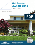 Resedential Design Using Autocad 2013
