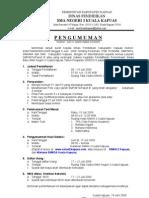 pengumuman PSB 2009