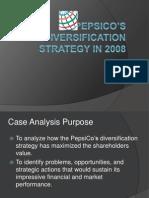 Pepsi_Co Diversification Strategy Case Analysis