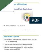 26 Fluid, Electrolyte and Acid Base Balance