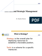 introduction to strategic management for marketers