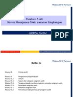Materi Presentasi Audit Internal ISO19011:2002