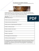 America The Story Of Us Episode 2 Revolution Worksheet