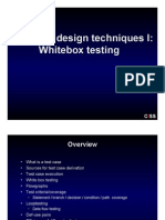 Test Case Design