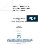 Brief Report on Rohingya in Malaysia 2009