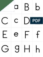 Small Flashcards Alphabet