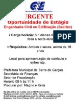 CARTAZ ESTÁGIO BARRA DO GARÇAS.doc