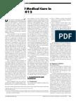 Standards of Medical Carein Diabetes 2012