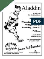 Aladdin Flyer 2
