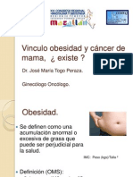 Obesidad y Cancer de Mama
