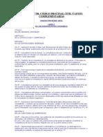 Codigo Procesal Cvil y Leyes Complementarias
