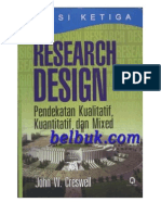 Design Research Kuantitatif Kualitatif Dan Mixed Creswell