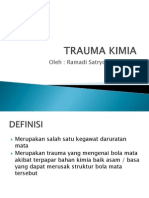 Powerpoint referat trauma kimia pada mata