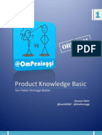 Seri Paket Peninggi Badan v1 - Product Knowledge Basic (Update Maxical)