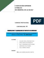 Proyecto Lavanderia Manual e Industrial Original Si