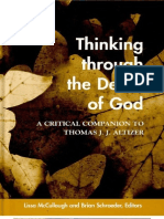 Thinking Through the Death of God - Lissa McCullough