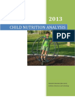 Child Nutrition Final Report