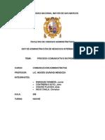 Proceso de comunicación interna y externa de Promperú