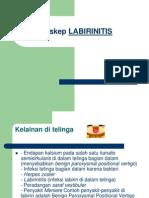 Askep LABIRINITIS