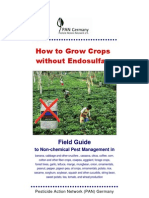 How to Grow Crops Without Endosulfan and Pesticides