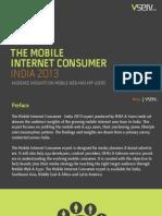 The Mobile Internet Consumer India Report 2013
