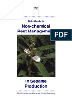 Field Guide to Non-chemical Pest Management in Sesame Production